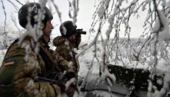 ООС за сутки - три оккупанта были уничтожены и ещё 8 - ранены