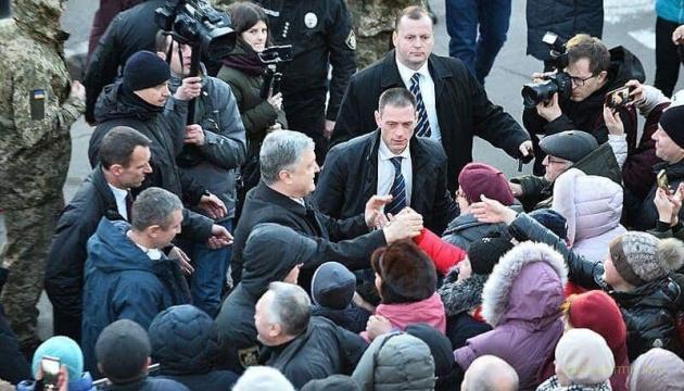 """""""Бегство"""" Порошенко с митинга в Житомире оказалось дешевым фейком медиахвойд"""