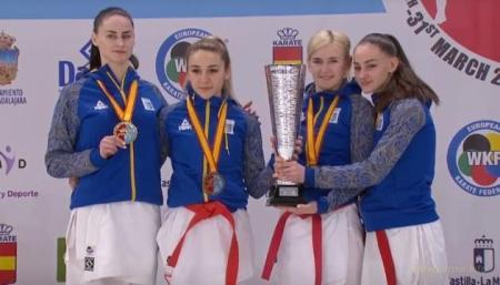 Жіноча збірна України – чемпіон Європи з карате!