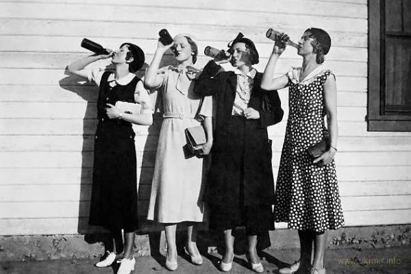Парочка интересностей о безалкогольной эпохе