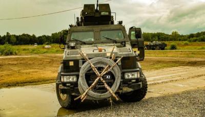 Українські десантники успішно обкатали новітній БТР