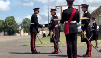 Українець став найкращим закордонним випускником Британської військової академії