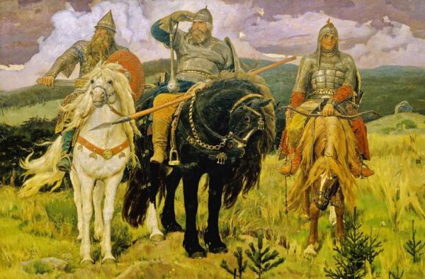 Всі три «російських» богатиря, виявилися українцями