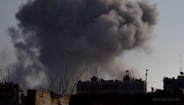 В Сирии сбили самолет сил подельника Путина