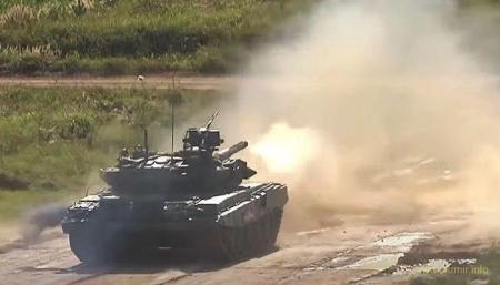 Катастрофический провал российских танков на стрельбах «Армия-2020»