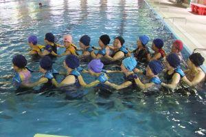 健康水中運動