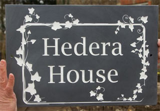 ivy-border-slate-sign