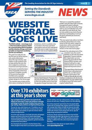 BSGA Newsletter Issue