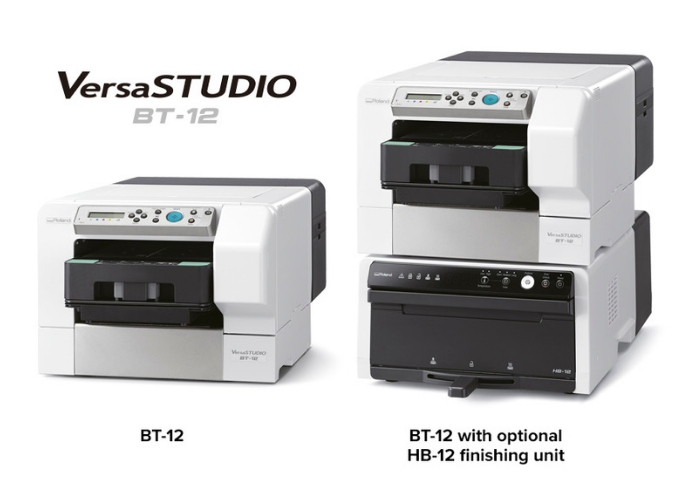 Roland DG Announces Availability of VersaSTUDIO BT-12 Direct-To-Garment Printer