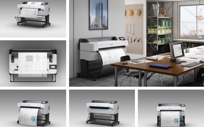 Epson announces new range of large-format technical plotters