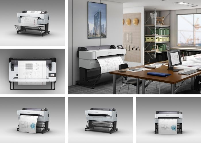 Epson announces new range of large-format technical plotters
