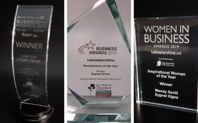 ISA-UK Member Sygnet Group, win 3 awards in 2019