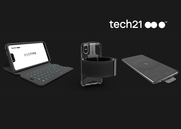 , tech21 announces latest innovative smartphone accessories for Spring 2019