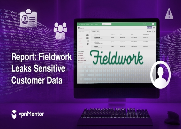 , Fieldwork Data Breach Exposes Clients' PII Information, Payment Details, Alarm Codes and More