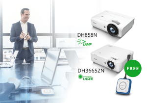 Vivitek launches two all-in-one projectors with wireless collaboration