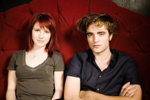 Hayley Williams and Robert Pattinson