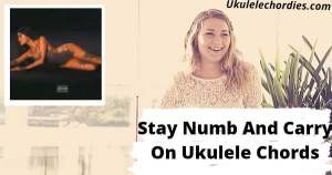 Stay Numb And Carry On Ukulele Chords By Madison Beer