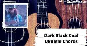 Dark Black Coal Ukulele Chords By Logan Halstead