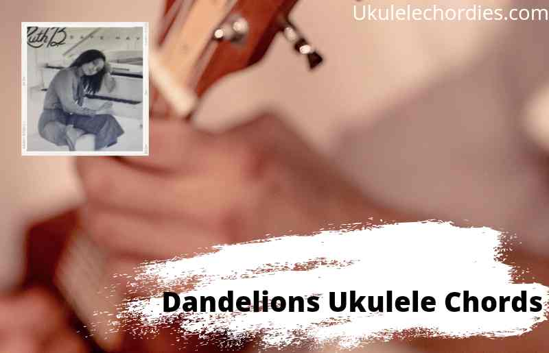 Read more about the article Dandelions Ukulele Chords By Ruth B.