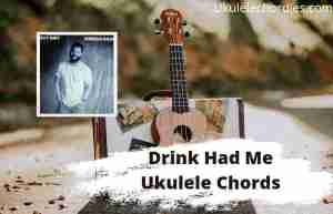 Read more about the article Drink Had Me Ukulele Chords By Jordan Davis
