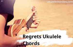 Regrets Ukulele Chords By John Mayer