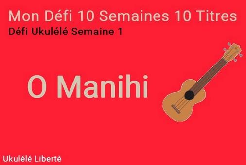 O Manihi Défi Ukulélé
