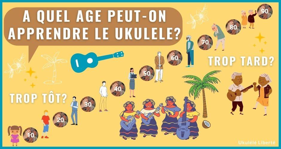 A quel âge peut-on apprendre le ukulélé ?