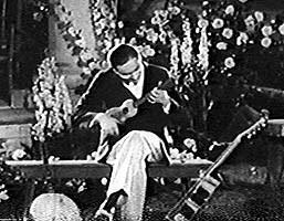 """Roy Smeck joue du Ukulele - Le Magicien des Cordes dans """"His Pastimes"""""""