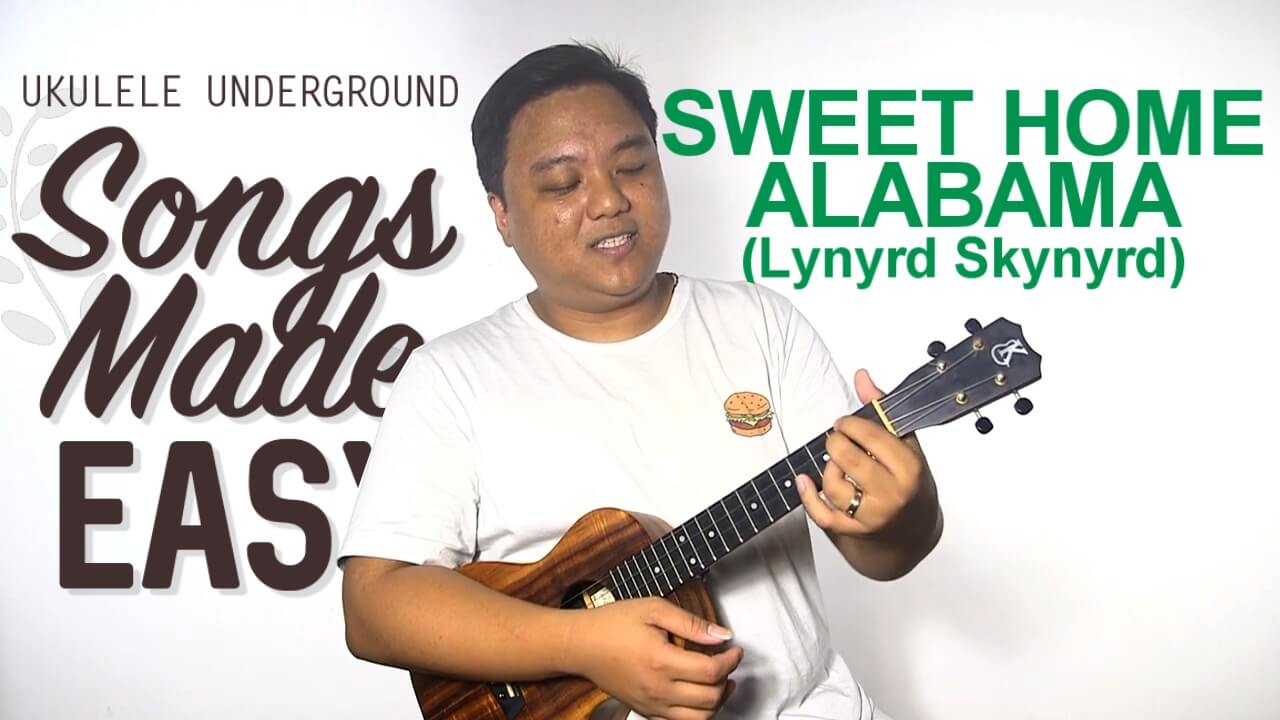 2,005,107 views, added to favorites 34,899 times. Songs Made Easy Sweet Home Alabama Ukulele Underground