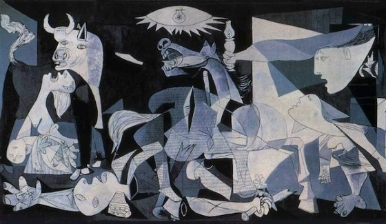 The Guernica by Picasso