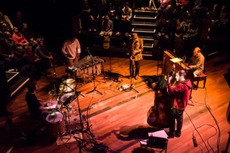 Nat Birchall Quartet perform at Jazz in the Round - 24/11/14