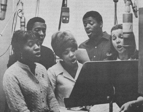 (left to right) Devene Gardner, Roscoe Gill, Trish Turner, Tony Watkins and Alice Babs