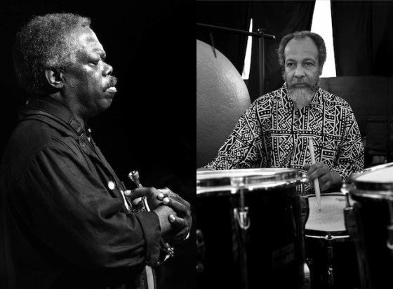 Joe McPhee & Milford Graves - photos by Luciano Rossetti