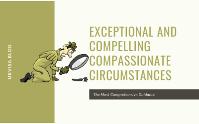 UK Family Visa Exceptional and Compassionate Circumstances