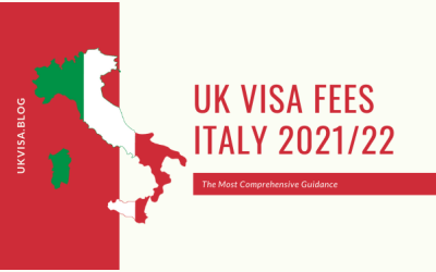 How much is the UK Visa Application Fee 2021 in Italy?