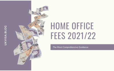 No Changes in the Home Office Immigration Fees from July 1, 2021
