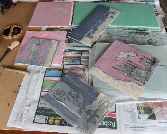 Some of my woodblocks