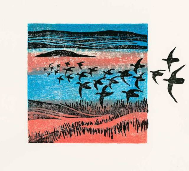 Variable Edition Woodcut - Edge of Salt Marsh 1