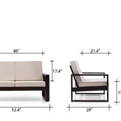 Corner Sofas On Finance Brown Sofa Blue Pillows Eileen Wooden 2-1-1 Set - Urban Ladder