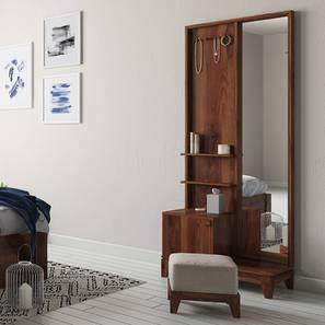 Magellan Dressing Table With Pouffe Urban Ladder