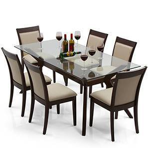 sofa covers designs india ratings wesley - dalla 6 seater dining table set urban ladder