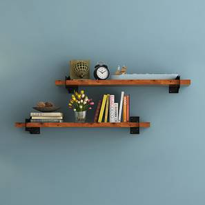 Kitchen wall shelves