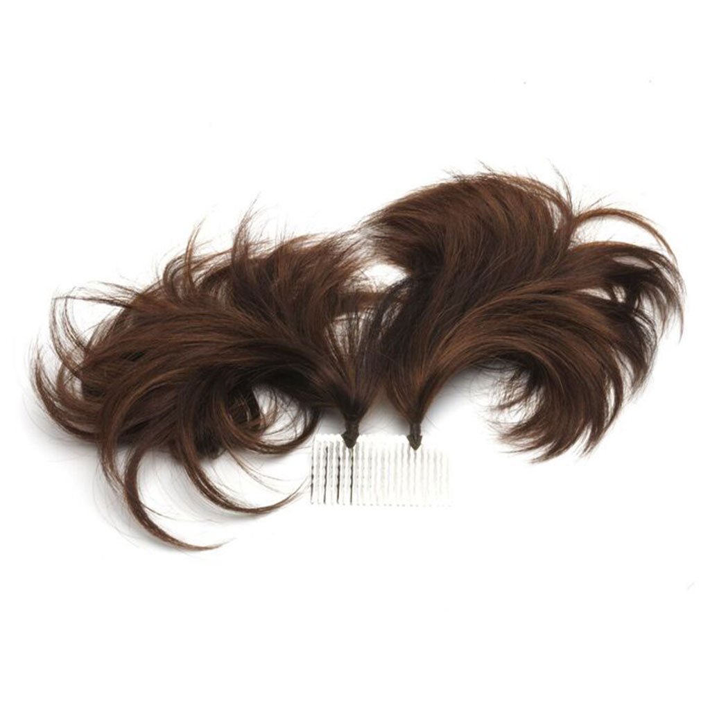 Double Tuft Beautiful Wedding Hair Extension For Women