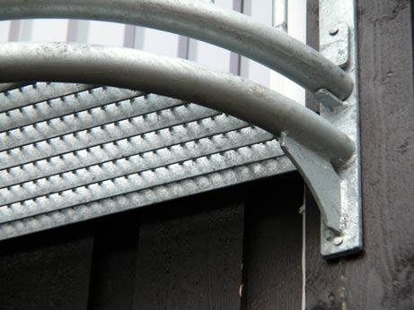 Fransk balkong detalj