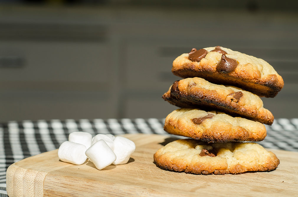 Cookies chocolat chamallows