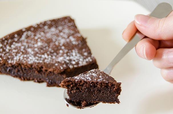 Gâteau chocolat courgette sans beurre