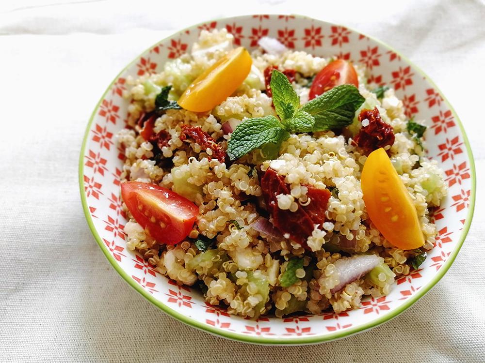 Salade de quinoa feta