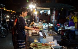 Food market chiang mai