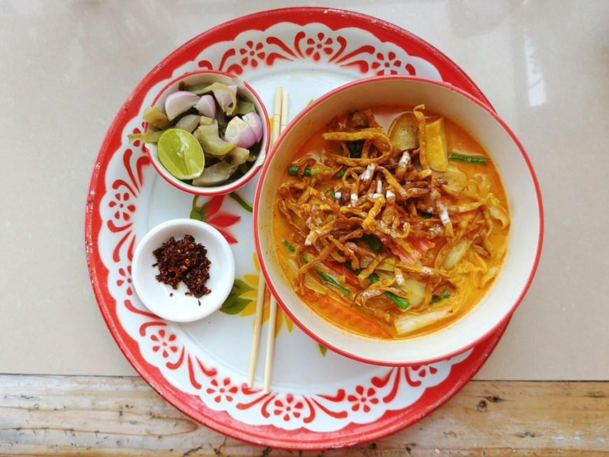 ingrédients khao soi