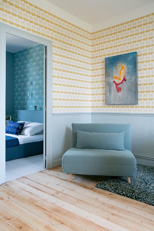 Projekt: Wohnraum im Kunstbahnhof AnnetteB Projekt by Ulala Vienna